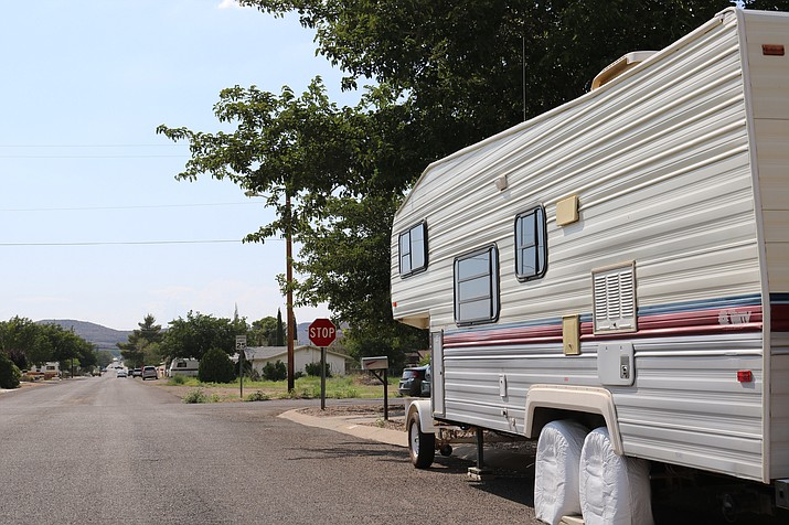 A public hearing regarding text amendment changes to RV parking regulations will be held at Council's meeting at 5:30 p.m. Tuesday at the Mohave County Administration Building, 700 W. Beale St. (Photo by Travis Rains/Daily Miner)