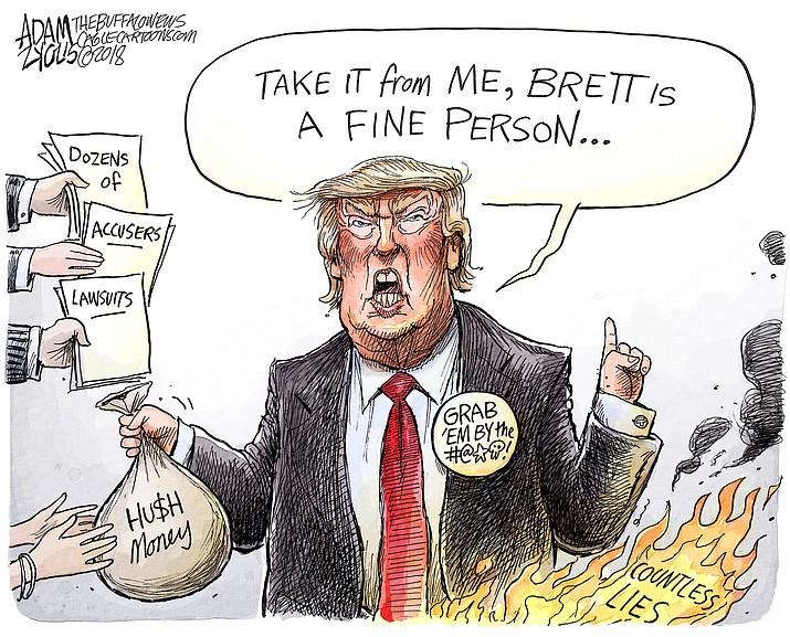 Editorial cartoon (1): Oct. 1, 2018