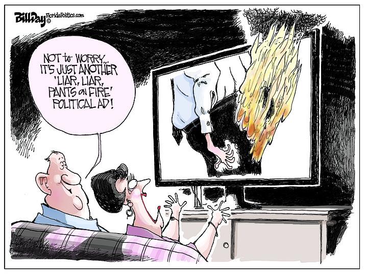 Editorial cartoon (1): Oct. 2, 2018