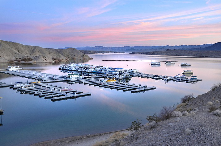 Cottonwood Cove on Lake Mohave is a part of the Lake Mead National Recreation Area. (Photo by Andrew Cattoir via Lake Mead NRA)
