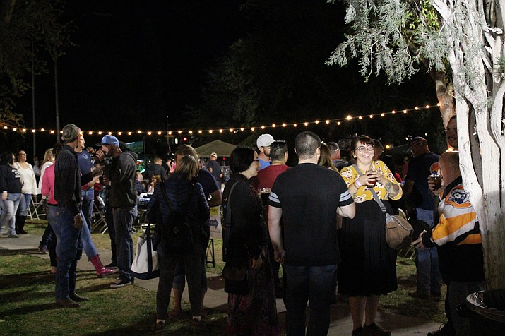 The 11th annual Brews and Brats Oktoberfest begins 3 p.m. Friday. Last year's event raised some $20,000 for the Kingman Route 66 Rotary Club thanks to the approximately 5,000 people who attended. (Daily Miner file photo)