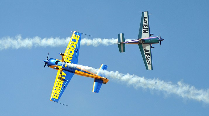 The Wings Out West Airshow is set for 9 a.m. to 3 p.m. Saturday at Prescott Regional Airport, Ernest A. Love Field. (Les Stukenberg/Courier, file)