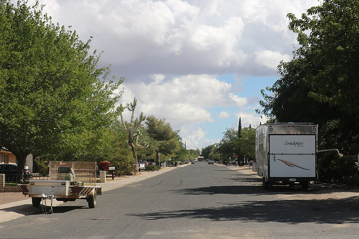 After months of discussion by the Planning and Zoning Commission and consideration of its recommendation, Council voted 6-1 at its meeting Tuesday to ban on-street parking of recreational and similarly-sized vehicles. (Photo by Travis Rains/Daily Miner)