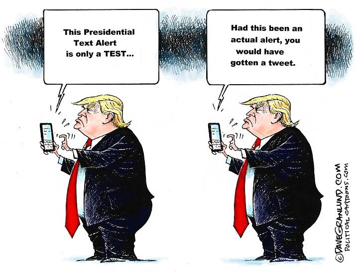 Editorial cartoon (1): Oct. 4, 2018