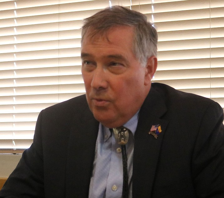 Dr. David Brill, Democratic candidate for Arizona's 4th Congressional District (Photo by Travis Rains/Daily Miner)