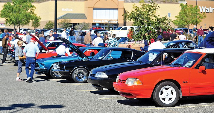Ford Mustang owners and enthusiasts will converge in Prescott for the Pony Only Cruise Car Show Saturday, Oct. 6. (Debbie Stewart/Courtesy)