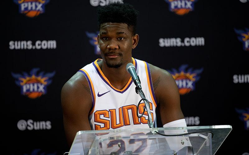 bfddf1650 I m the anchor   Phoenix Suns ready to build defense around Ayton ...