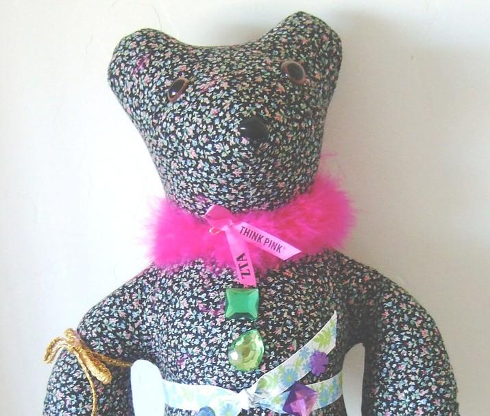 Deborah Portzer's Sojourn Teddy Bear. (Nanci Hutson/Courier)