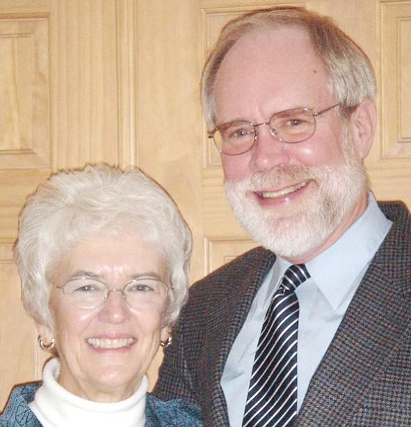 Nancy and Bill Von Rohr. (Courtesy)