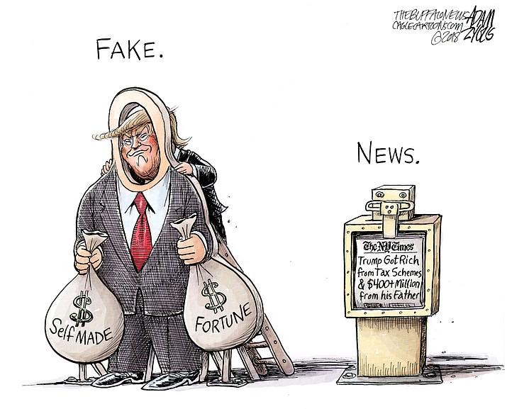 Editorial cartoon (1): Oct. 8, 2018