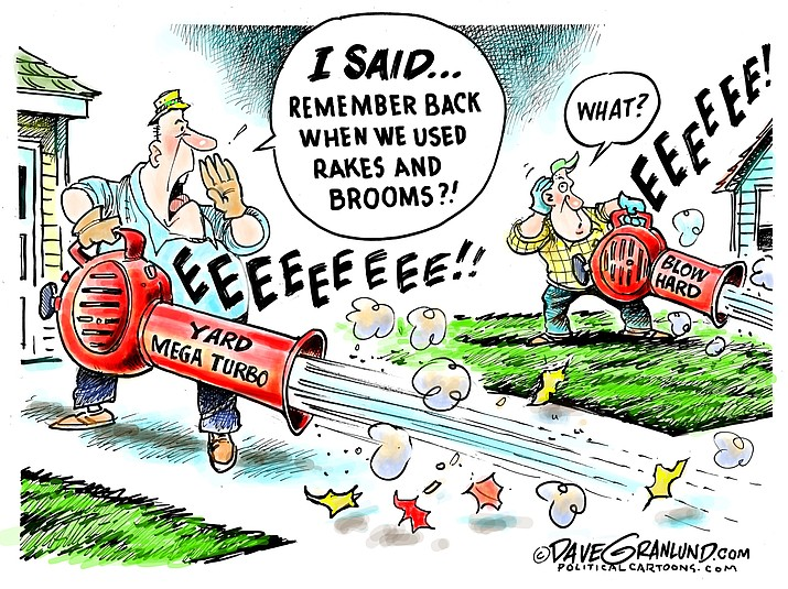 Editorial cartoon (2): Oct. 8, 2018