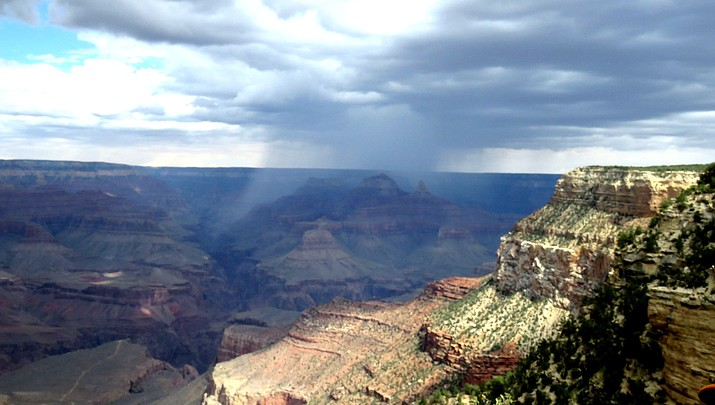 Western Light: Storm Over the Grand Canyon