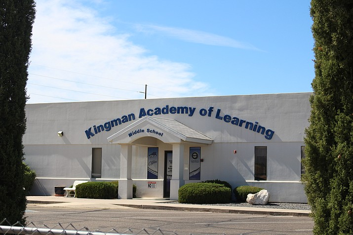 Kingman Academy of Learning Middle and Intermediate school received an A for 2017-2018. Executive Director Susan Chan applaud the teacher's efforts. (Photo by Vanessa Espinoza/Daily Miner)