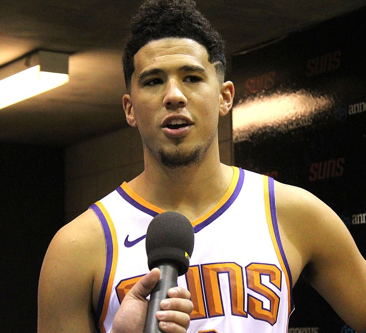 Devin Booker is expected to be ready to play when the Suns open the season Wednesday at home against Dallas. (Photo by Beau Bearden/Daily Miner)