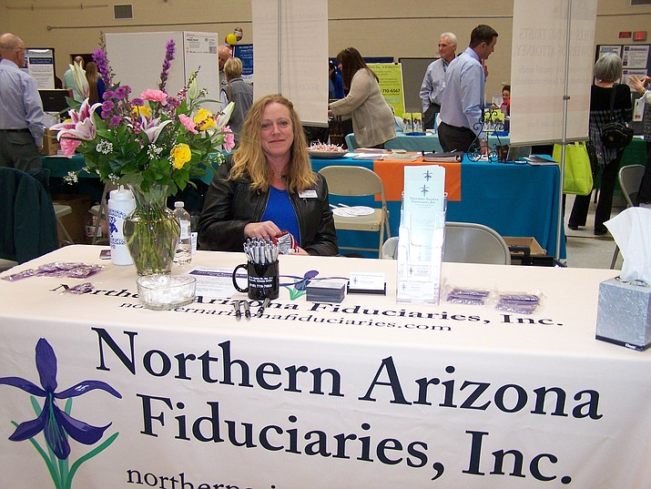 Representatives from 'Northern Arizona Fiduciaries' will be on hand to answer questions during the 'Senior & Caregivers Conference & Expo,' Friday October 12 from 10am-3pm at Liberty Traditional School in Prescott Valley. Guest speakers throughout the day and representatives from more than 60 companies. Free admission. (Debbie Stewart/Courtesy)
