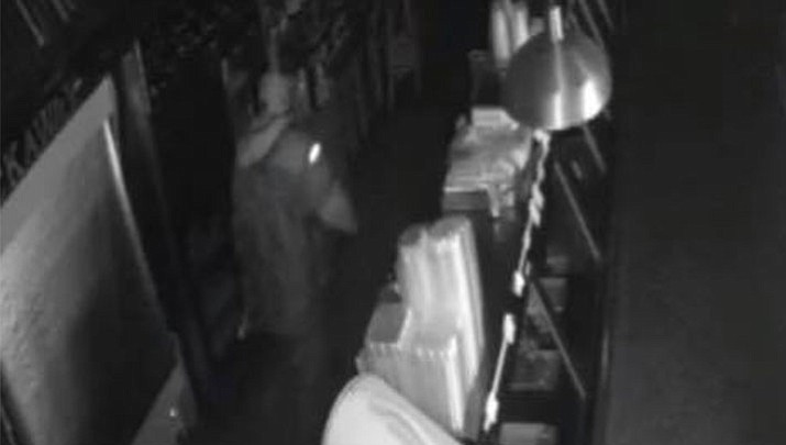 Police say a man broke into Tuckaway Tavern and Butchery in Raymond, New Hampshire around 1:30 a.m. Tuesday and stole more than $25,000. (Tuckaway Tavern and Butchery)