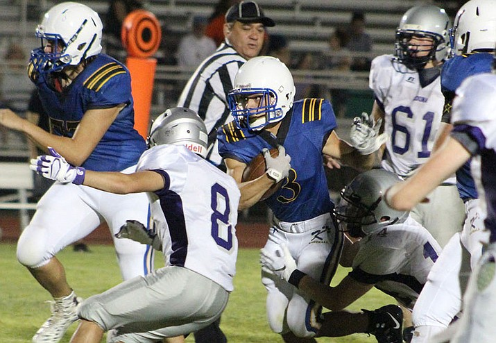 Gavin Randall and the Bulldogs will have their work cut out for them at 7 p.m. against No. 1 ranked Northwest Christian. (Daily Miner file photo)