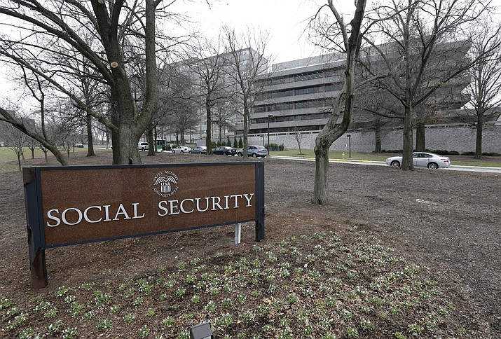The Social Security Administration's main campus on Jan. 11, 2013, in Woodlawn, Md. (Patrick Semansky/AP file)