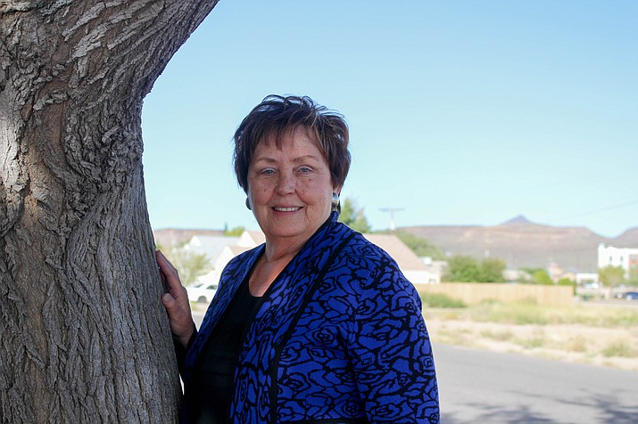 Janet Watson, president of Kingman Cancer Care Unit, is a breast cancer survivor herself. She was diagnosed in September 2016 and has been cancer free since then. (Photo by Vanessa Espinoza/Daily Miner)