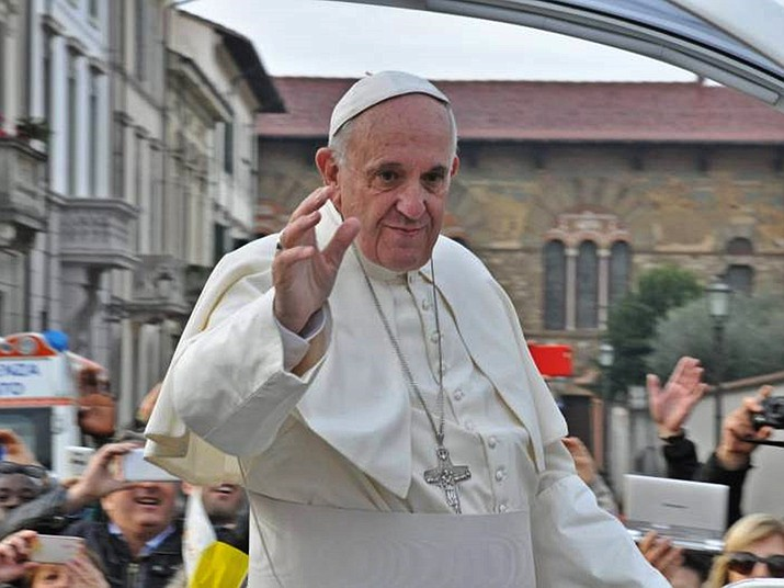 Pope Francis on Saturday defrocked two more Chilean bishops accused of sexually abusing minors, and to show greater transparency about how he's responding to the church's global sex abuse crisis, he publicly explained why they were removed. (Photo by Zebra48bo [CC BY-SA 4.0  (https://creativecommons.org/licenses/by-sa/4.0)], from Wikimedia Commons)