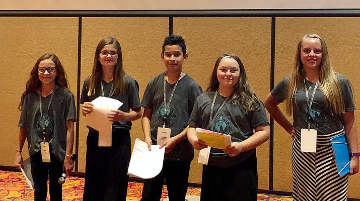 Coyote Springs students take the lead