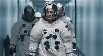 'First Man' a dramatization of the moon landing, lacks the patriotism photo