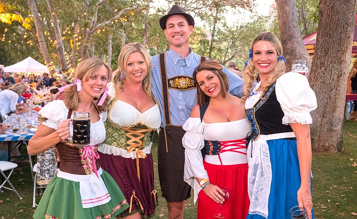 This traditional German celebration of the harvest season features a handful of local brewers showcasing the best Arizona beers.  Courtesy photo, The Rotary Club of Sedona Red Rocks