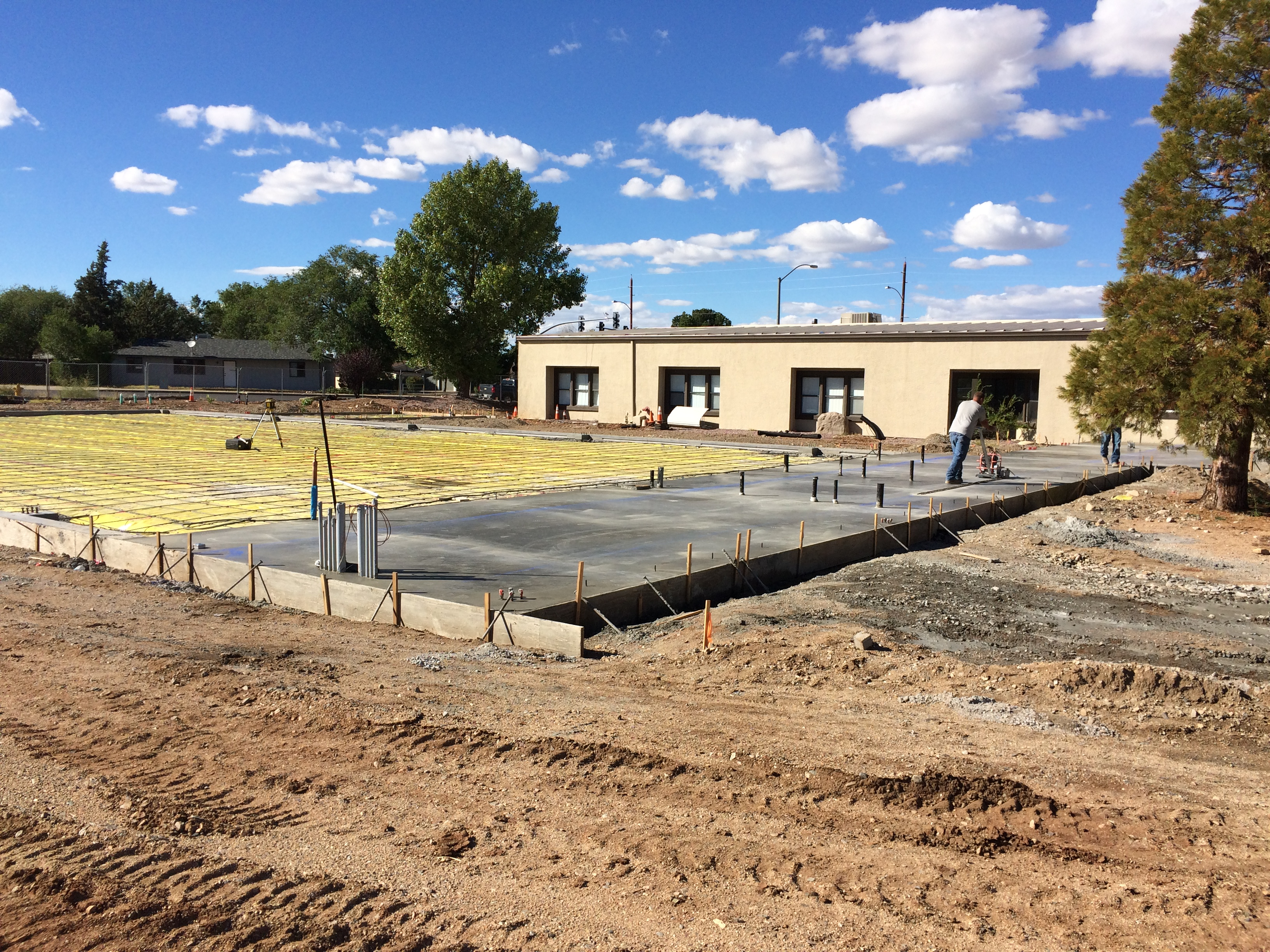 weather impacts construction on boys girls club the daily courier prescott az. Black Bedroom Furniture Sets. Home Design Ideas