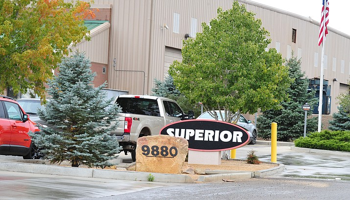 A chemical spill occurred inside Superior Industries in Prescott Valley. One employee at the manufacturing plant was transported to the hospital with non-life threatening injuries.