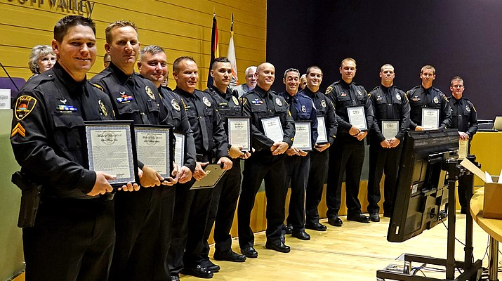 Officers awarded Lifesaving Ribbon, Medal of Valor, Police Star