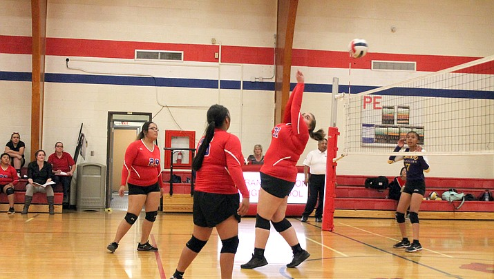 Phantoms Volleyball scores win over Shonto Prep Oct. 10