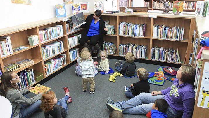 Storytime's a hit at Williams Public Library