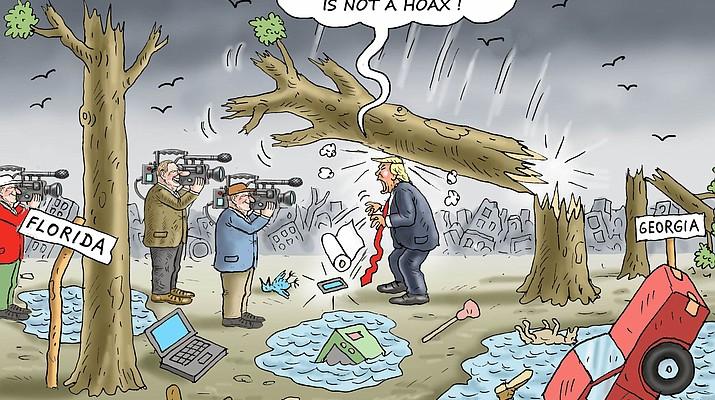 Editorial Cartoon (2): October 17, 2018