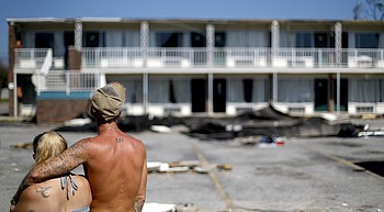 Mexico Beach residents return home 1 week after Michael photo