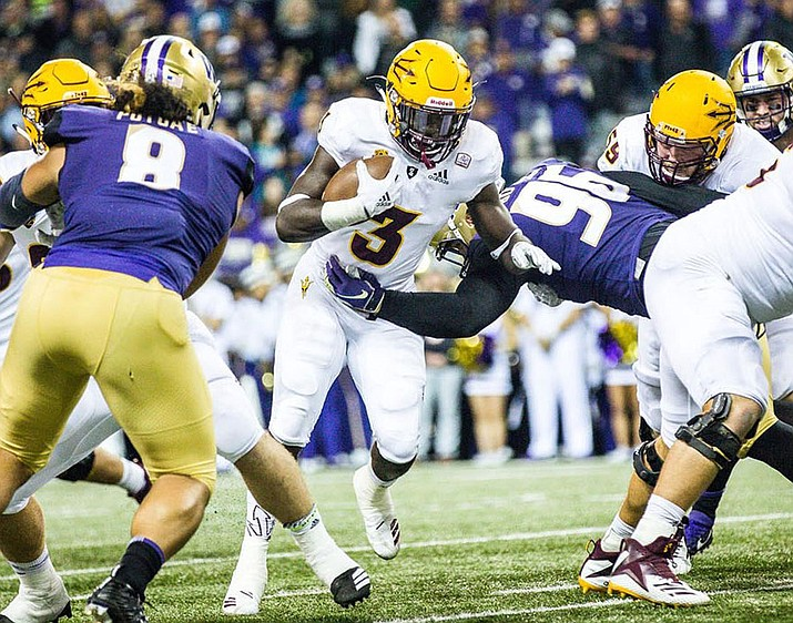 Eno Benjamin looks to lead Arizona State to its second Pac-12 win Thursday against Stanford. (Courtesy of ASU Athletics)
