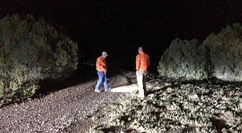 Missing hunters show up at home after overnight search photo