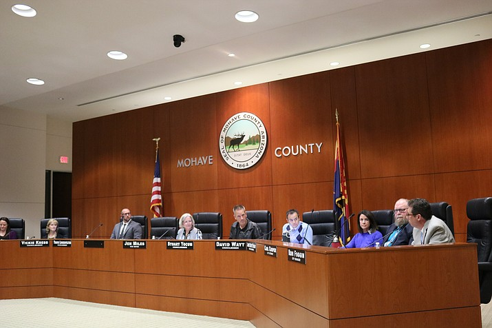 On Tuesday, City Council heard a report from Kingman's Neighborhood Services Division, in which challenges and methods of mitigation were addressed. (Photo by Travis Rains/Daily Miner)