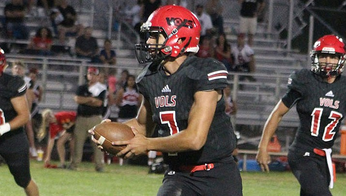 Prep Football: Vols hit the road with intentions of pulling off the upset