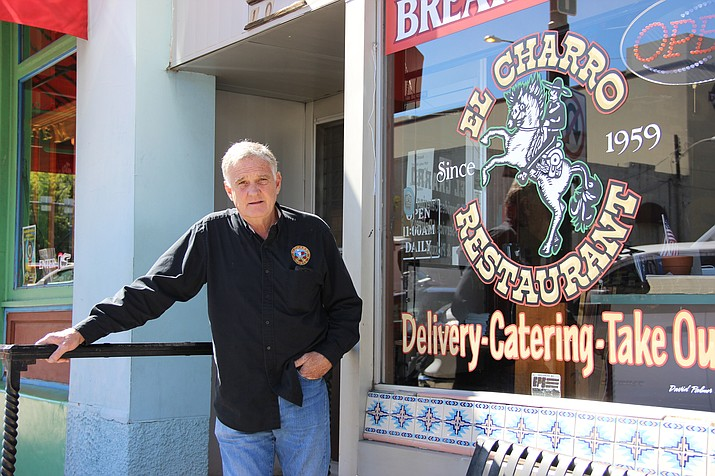 Gary Denny, 58, closed Prescott's El Charro Mexican Restaurant and Cantina indefinitely Sunday, Oct. 14. The restaurant was open for 59 years. (Max Efrein/Courier)