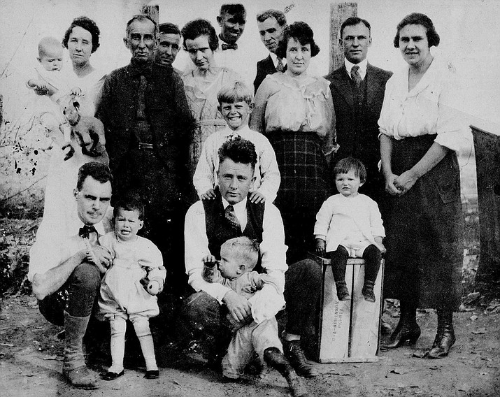 The Perry family. (AZ Farming and Ranching Hall of Fame/Courtesy)