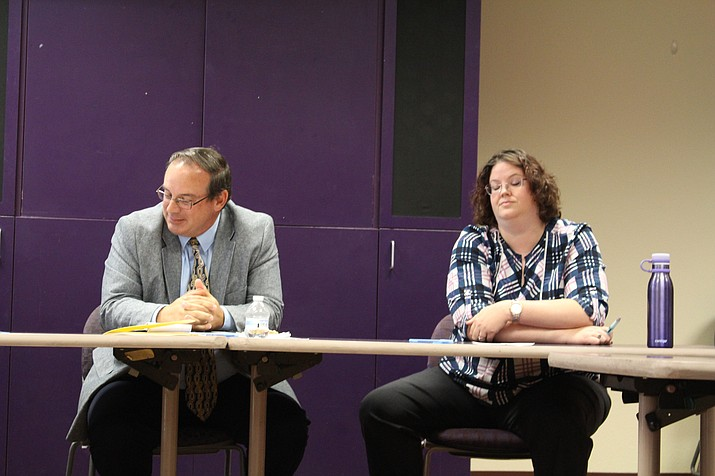 Cliff Angle and Jennifer Shumway share similar priorities and stances running for the three open seats on the KUSD school board. (Daily Miner file photo)