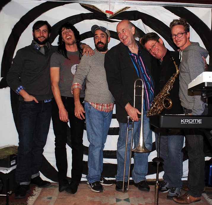 Members from left: Lou Moretti, Christian Jerman, Jason Vargo,  Uncle Marc Wolin, Steve George,