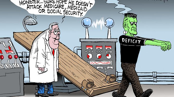 Editorial cartoon (1): Oct. 22, 2018