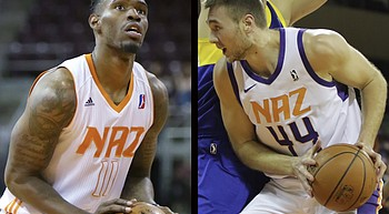 Cooke, Stuteville highlight NAZ Suns training camp roster photo
