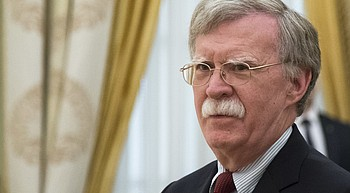 Bolton faces tense talks with Russia over nuclear treaty photo