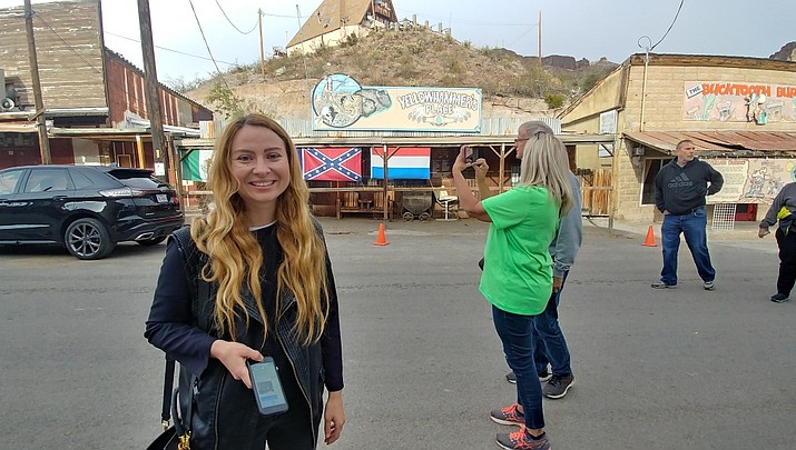 Voice of America comes to Oatman