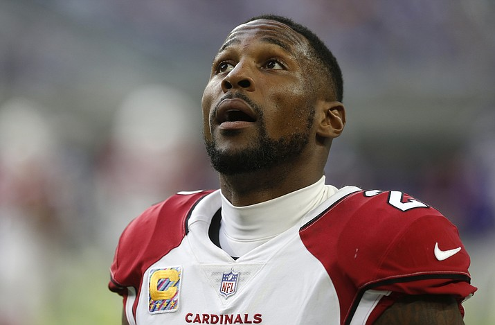 Arizona Cardinals head coach Steve Wilks on Monday emphatically said the team is not going to trade star cornerback Patrick Peterson. (Jim Mone/AP)