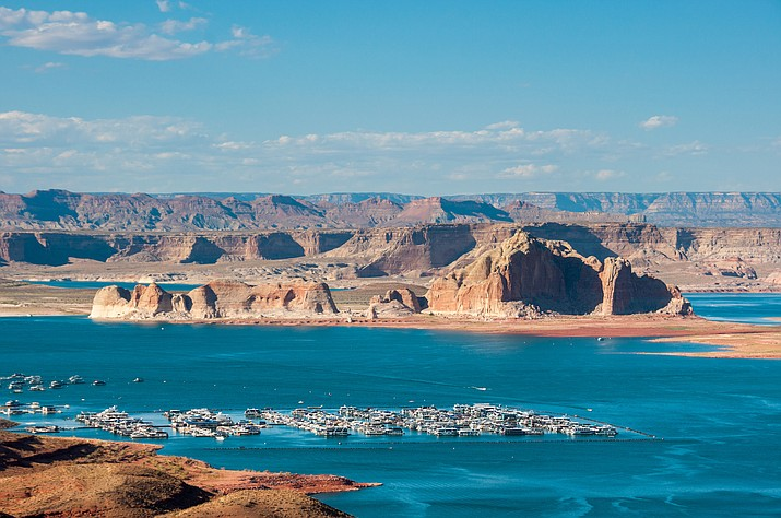 Antelope Point Marina and Resort is located in Page, Arizona and within the south shorelines of Lake Powell. The Navajo Nation is opposing legislation that would allow commercial use by the National Park Service within the leased lands of the marina. (Stock photo)