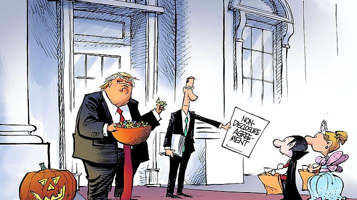 Editorial cartoon (a): Oct. 24, 2018