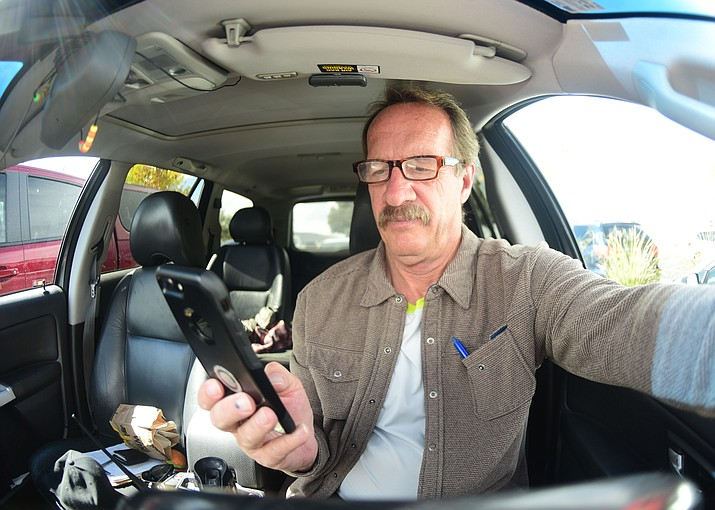 The City of Prescott implemented a hand-held cellphone ban at it's meeting Tuesday, Oct. 23, 2018. (Les Stukenberg/Courier)
